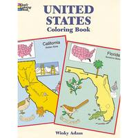 Dover PublicationsUnited States Coloring Book