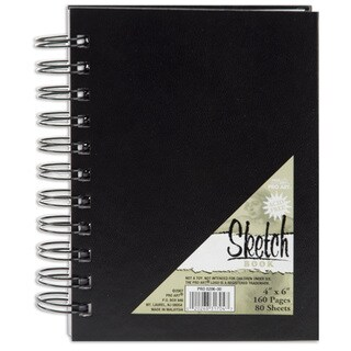 Pro Art Sketch Book 4inX6in80 Sheets
