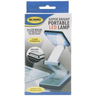 Super Bright Portable LED LampWhite|https://ak1.ostkcdn.com/images/products/10555726/P17634592.jpg?impolicy=medium