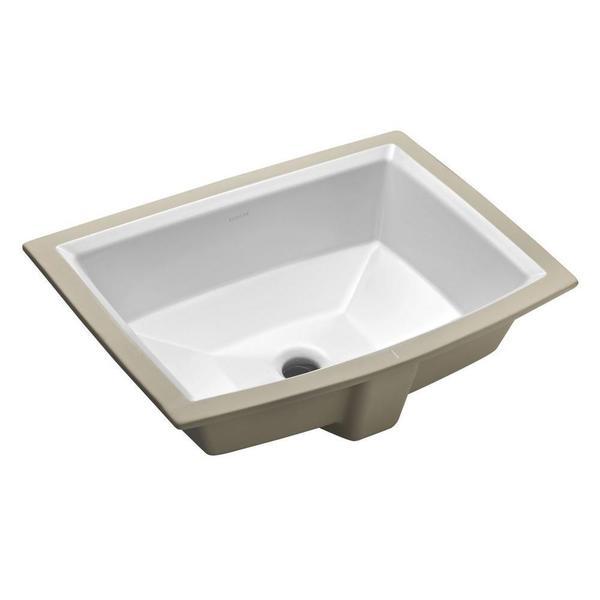 Kohler Archer Sink Undermount : Kohler Archer Undermount Bathroom Sink in White - Free Shipping Today ...