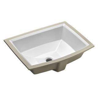 Kohler Archer Undermount Bathroom Sink in White