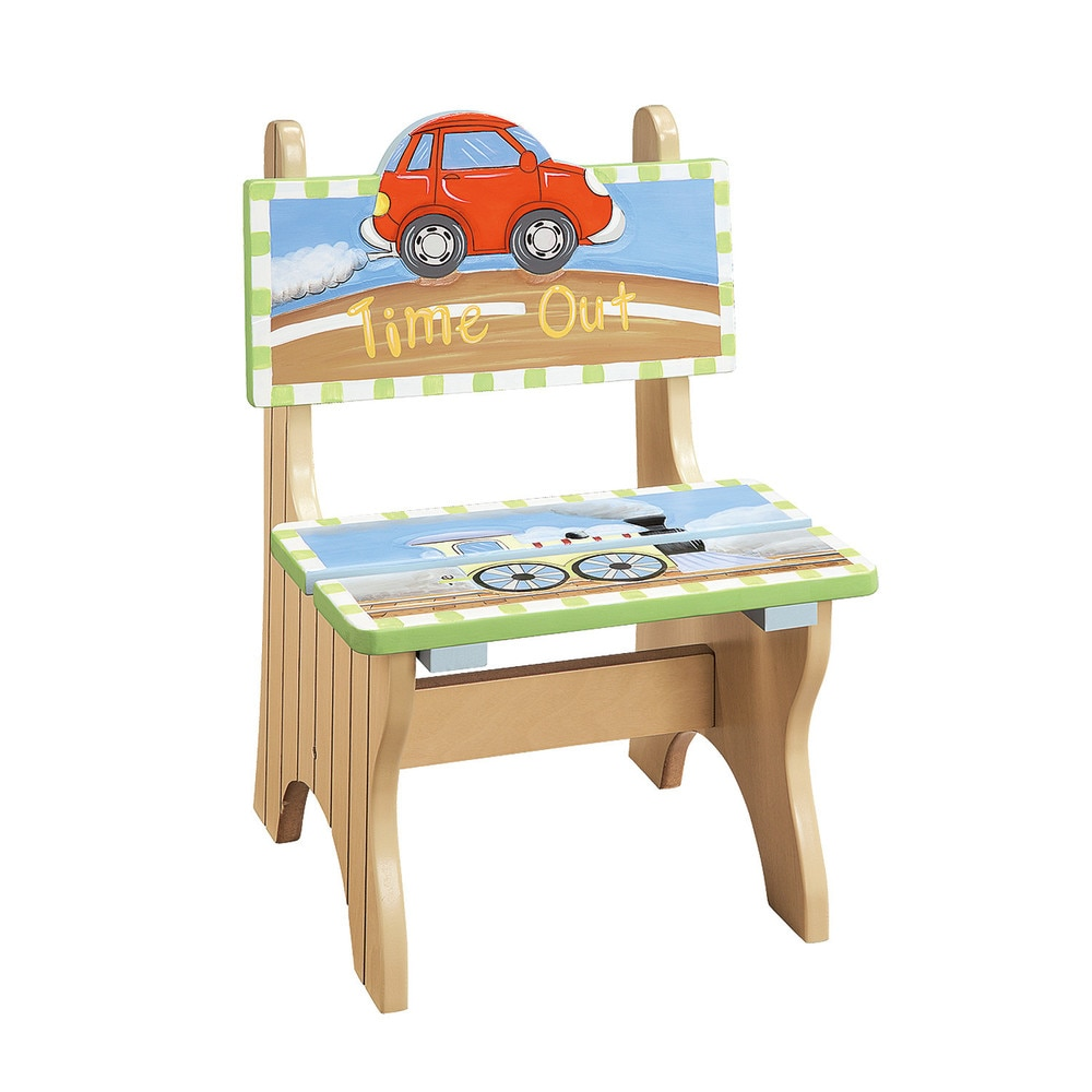 Teamson Fantasy Fields Transportation Time Out Chair (Fantasy Fields - Transportation Time Out Chair)