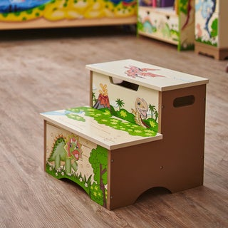Fantasy Fields Dinosaur Kingdom Step Stool