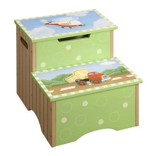 Teamson Fantasy Fields Transportation Step Stool