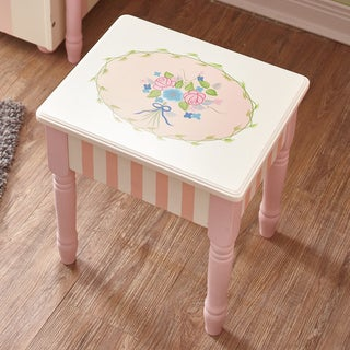 Fantasy Fields Bouquet Vanity Stool