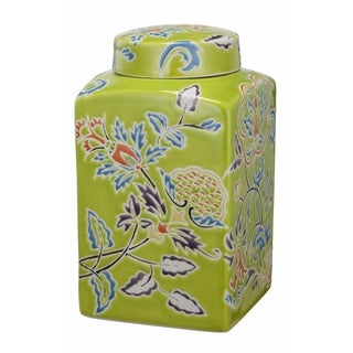Kathy Ireland Home 5x5 Square Lidded Jar