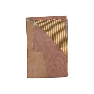 Vintage Handmade Striped Kantha Throw