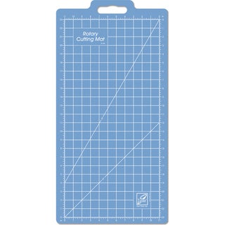 Gridded Rotary Mat W/Handle13inX25in W/11inX23in Grid