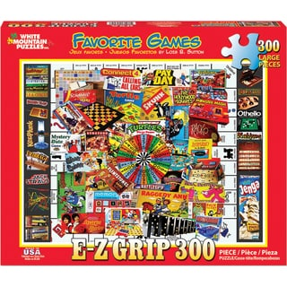 Jigsaw Puzzle 1000 Pieces 24inX30inFavorite Games