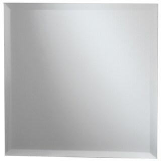Square Glass Mirror W/Bevel Edge Bulk11.75in