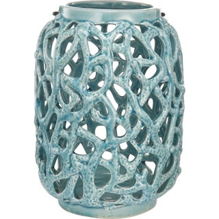 kathy ireland Home Ceramic Candle Holder