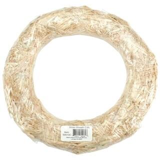 Straw Wreath 16inNatural