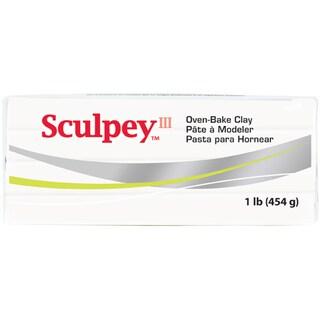 Sculpey III Polymer Clay 1lbWhite