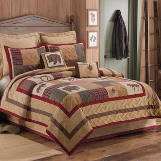 Pine Canopy Angelina Embroidered Quilt (Shams Not Included)