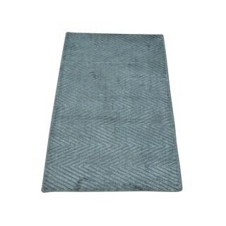 Modern Rayon from Bamboo Silk Tone on Tone Oriental Rug Hand-loomed (2' x 3'1)