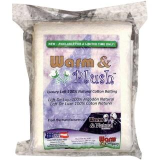 Warm & Plush Cotton BattingCrib Size 45inX60in