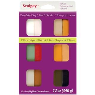 Sculpey III Polymer Clay Multipack 1oz 12/PkgNaturals