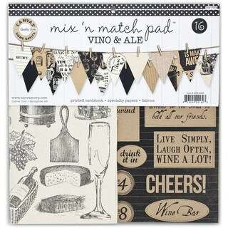 Canvas Corp Mix & Match Pad 12inVino & Ale