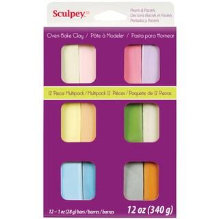 Sculpey III Polymer Clay Multipack 1oz 12/PkgPastels