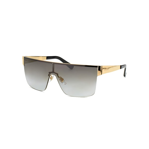 f3776e26e02 Shop Gucci GG 4265 S Grey Gradient Lenses Gold Black Frame Sunglasses -  Free Shipping Today - Overstock - 10556426