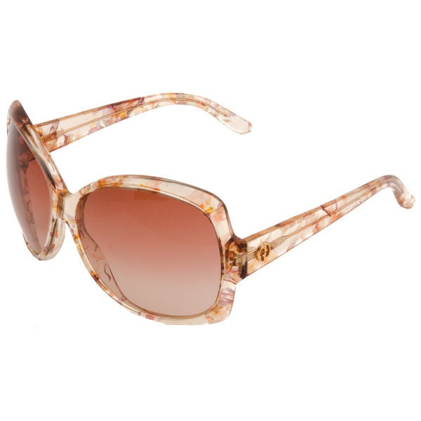 e85efc6ce Shop Gucci GG 3581/S Brown Gradient Lenses Multi-Color Floral Frame  Sunglasses - Free Shipping Today - Overstock - 10556435