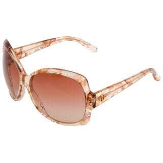 Gucci GG 3581/S Brown Gradient Lenses Multi-Color Floral Frame Sunglasses