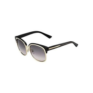 Gucci GG 4241/S Grey Gradient Lenses Gold /  Grey Frame Sunglasses