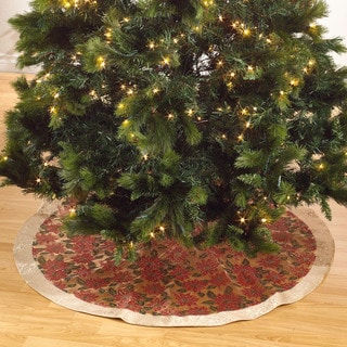 Printed Xmas Tree Skirt