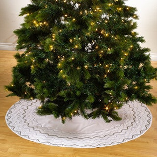 Hand Beaded Tree Skirt
