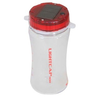 Davis LightCap 300 Solar Lantern/Water Bottle Red