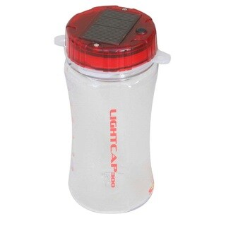 Davis LightCap 300 Solar Lantern/Water Bottle Red