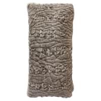 Harp & Finial Faux Fur Sioux Bolster Pillow
