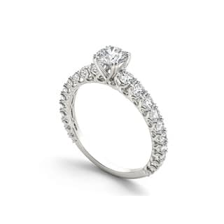 De Couer 14k Gold 1ct TDW Diamond Classic Engagement Ring|https://ak1.ostkcdn.com/images/products/10556792/P17635502.jpg?impolicy=medium