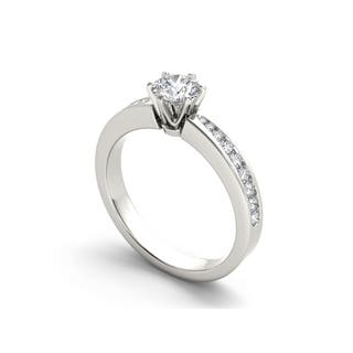 De Couer 14k Gold 1ct TDW Diamond Classic Engagement Ring (Option: 8.25)|https://ak1.ostkcdn.com/images/products/10556793/P17635503.jpg?impolicy=medium