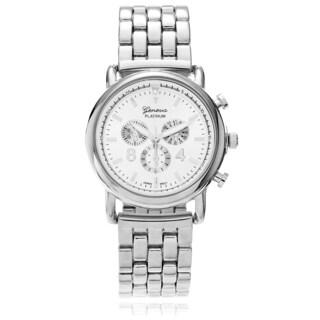 Geneva Platinum Women's Panther Link Watch