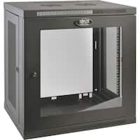 Tripp Lite 12U Wall Mount Rack Enclosure Server Cabinet w/ Glass Fron