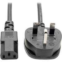 Tripp Lite 6ft Computer Power Cord UK Cable C13 to BS-1363 Plug 10A 6