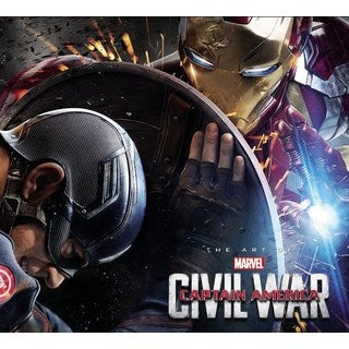 The Art of Marvel Captain America Civil War (Hardcover)