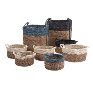 Bennet Woven Baskets (Set of 8)