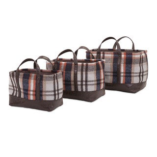 Ski Lodge Baskets (Set of 3)