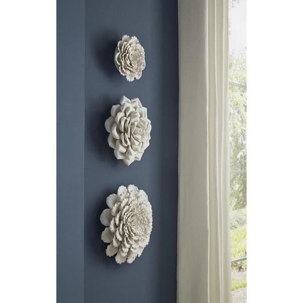 Evington Small Porcelain Wall Flower