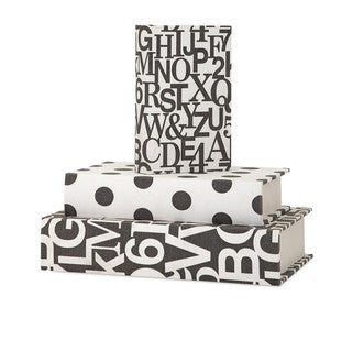 Link to Margie Book Boxes (Set of 3) Similar Items in Accent Pieces