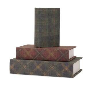 Ski Lodge Book Boxes (Set of 3)