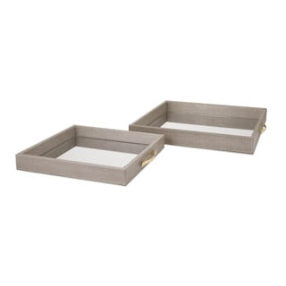 BK Mirrored Trays (Set Of 2)