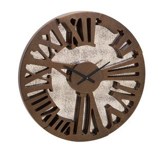 Beth Kushnick Antique Mirror Wall Clock