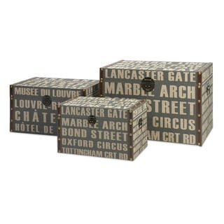Central Line Storage Trunks (Set of 3)
