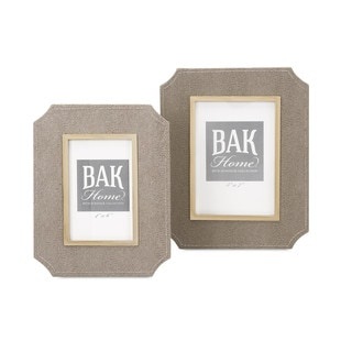 Beth Kushnick Photo Frames (Set of 2)