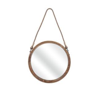 Senga Medium Wood Mirror