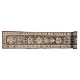 Super Kazak XL Runner Handmade Oriental Rug (2'6 x 19'7)