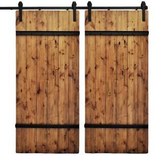 Dogberry Drawbridge 82-inch Double Barn